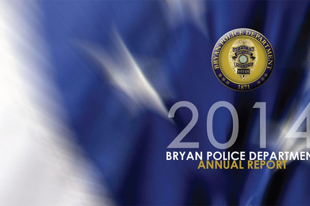 Bryan Police Department 2014 Annual Report