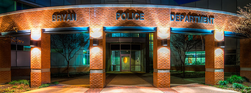 Bryan Police Department Accepting Applications for Entry Level, Certified Police Officer