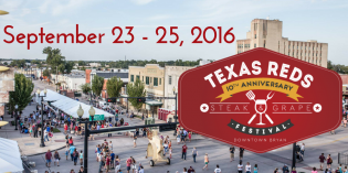 10th Anniversary Texas Reds Steak & Grape Festival
