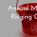 Salvation Army's Annual Mayor's Bell Ringing Challenge December 2nd
