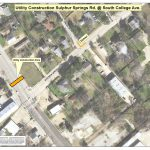 Utility Construction at Sulphur Springs Rd, South College Ave Begins Nov. 13th