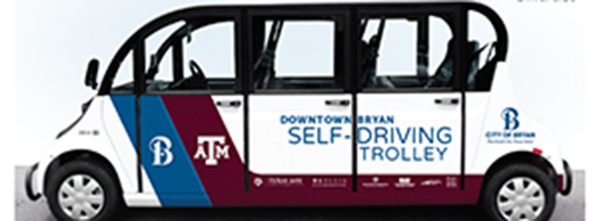 Self-Driving Trolleys Set to Debut in Downtown Bryan this October