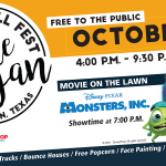 Family Fall Fest at Lake Bryan Set for October 20th