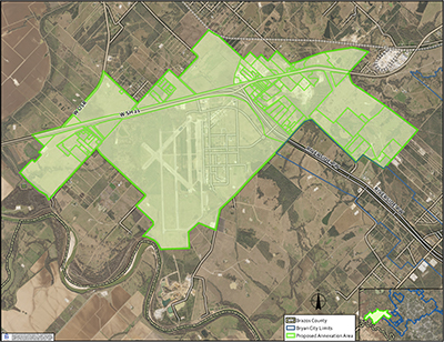 2019 City Initiated Annexations Of Texas Triangle Park And Rellis